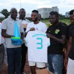Mubarak Wakaso supports Tamale Real Republicans with Football equipment and Materials
